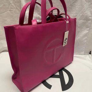 Telfar Medium Rose Red Shopping Bag